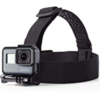 Techlife Head Strap Camera Mount for GoPro Xiaoyi SJCAM and All Action Camera