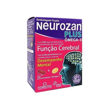 Neurozan Plus Omega 3 Rendimiento Cerebral 28 + 28 Comprimidos