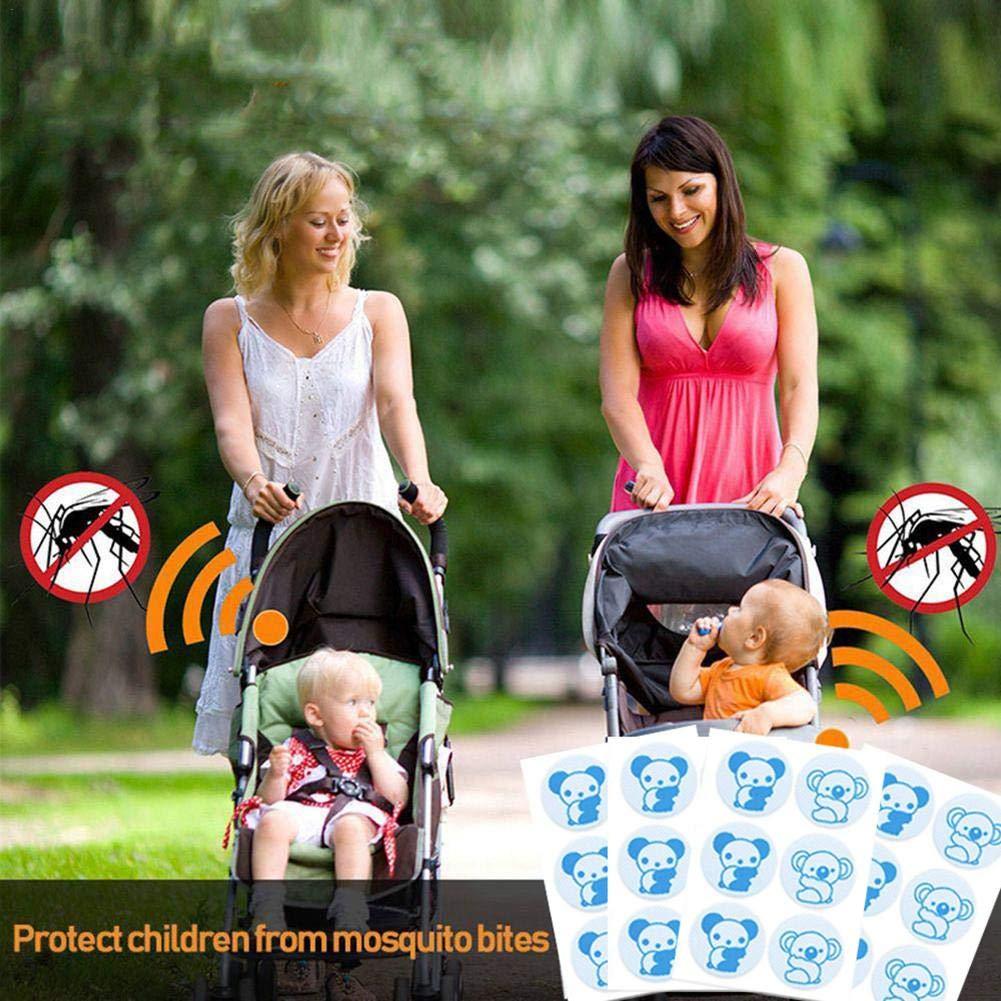 Etiquetas engomadas port/átiles del Anti-Mosquito para Acampar Que Camina al Aire Libre WXGY Etiqueta engomada repugnante del Mosquito