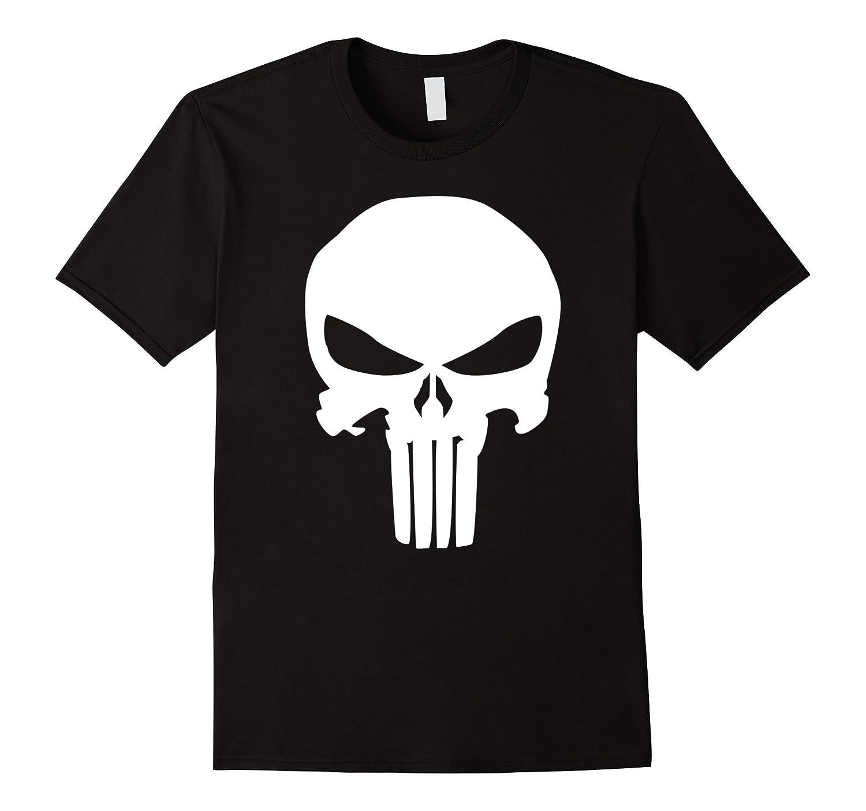 Punisher Classic Skull Symbol Graphic T-Shirt-RT