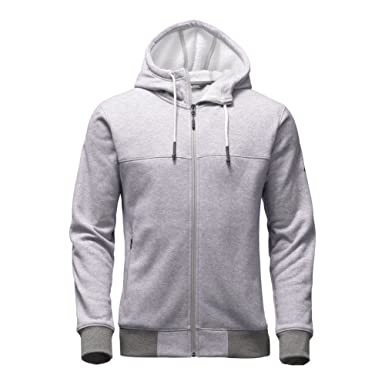 The North Face Tech Sherpa Full Zip Hoodie Men's TNF Light Grey ...