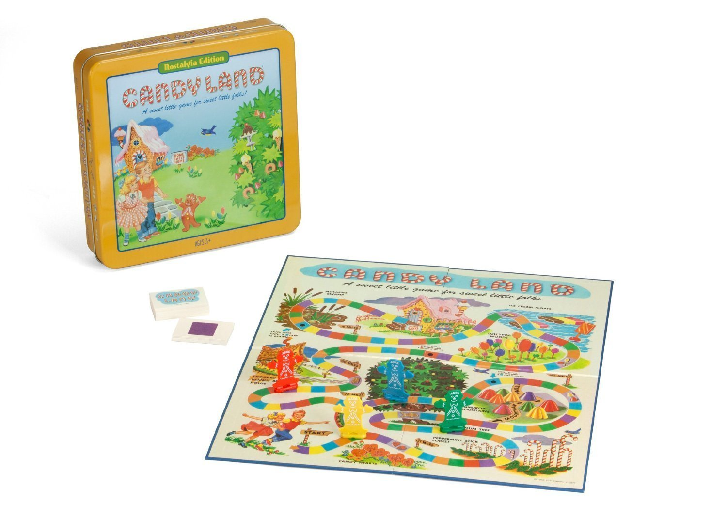 Candyland Deluxe Board Game in Classic Nostalgia Collector's Tin