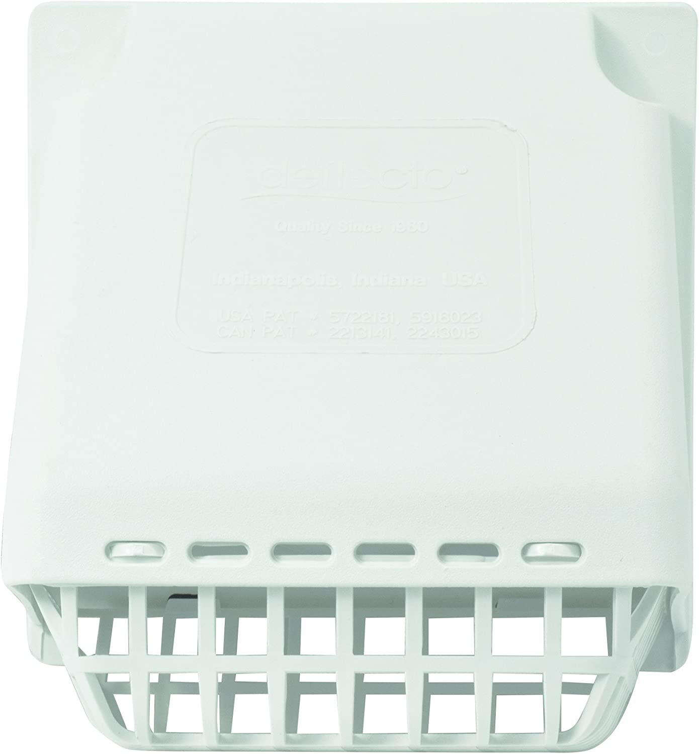 Deflecto Wide Mouth Dryer Vent Hood