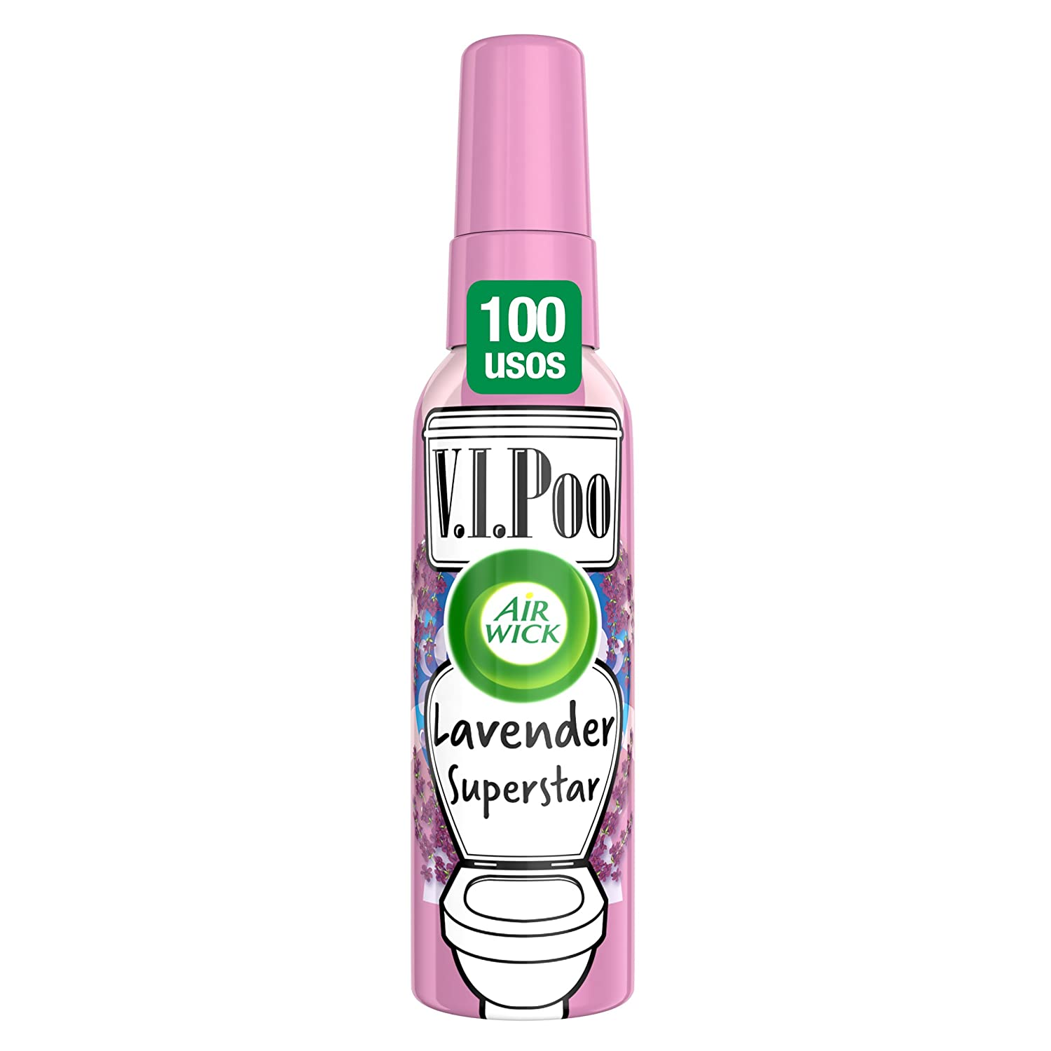 Air Wick VIPoo Spray para el WC, Lavanda - 55 ml Reckitt Benckiser