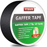 Premium Grade Gaffers Tape, Heavy Duty Non-Reflective Matte No Residue Gaff Main Stage Tape,Electrical Tape,Duct Tape…