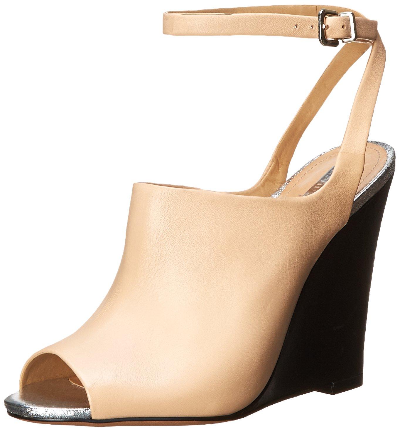 SCHUTZ Women's Clauvania Wedge Sandal B00PW2OEX0 7.5 B(M) US|Beach Sand
