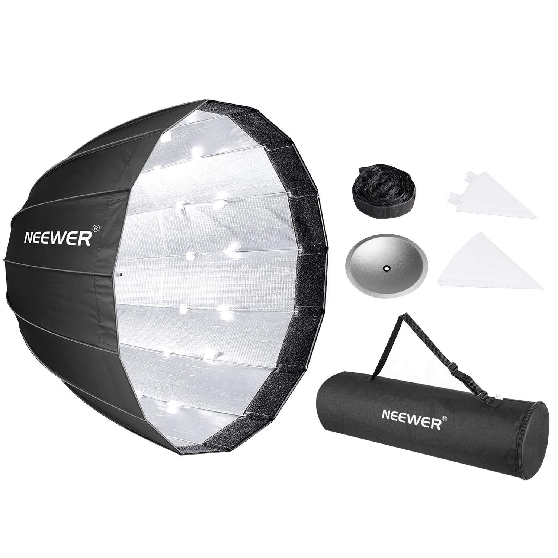 Pentax Panasonic Lumix Neewer Speedring Flash and Other Small Strobe Flashes Canon Olympus Sony Neewer 30x30 // 80cmX80cm Octagon Umbrella Speedlite Softbox with Bowens Mount Speedring for Nikon