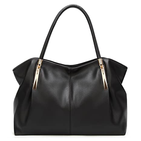 4e2b110f5b Image Unavailable. Image not available for. Color  Forestfish PU leather  Ladies Satchel Tote Bag Shoulder Bags ...