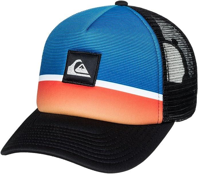 Quiksilver Hombres Stripe Downer Trucker Hat Gorra de béisbol ...