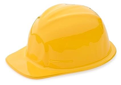 67789f36a0e Neliblu 1 Dozen Yellow Construction Hats for Kids - Children s Hard Hats -  Building Supplies Toys