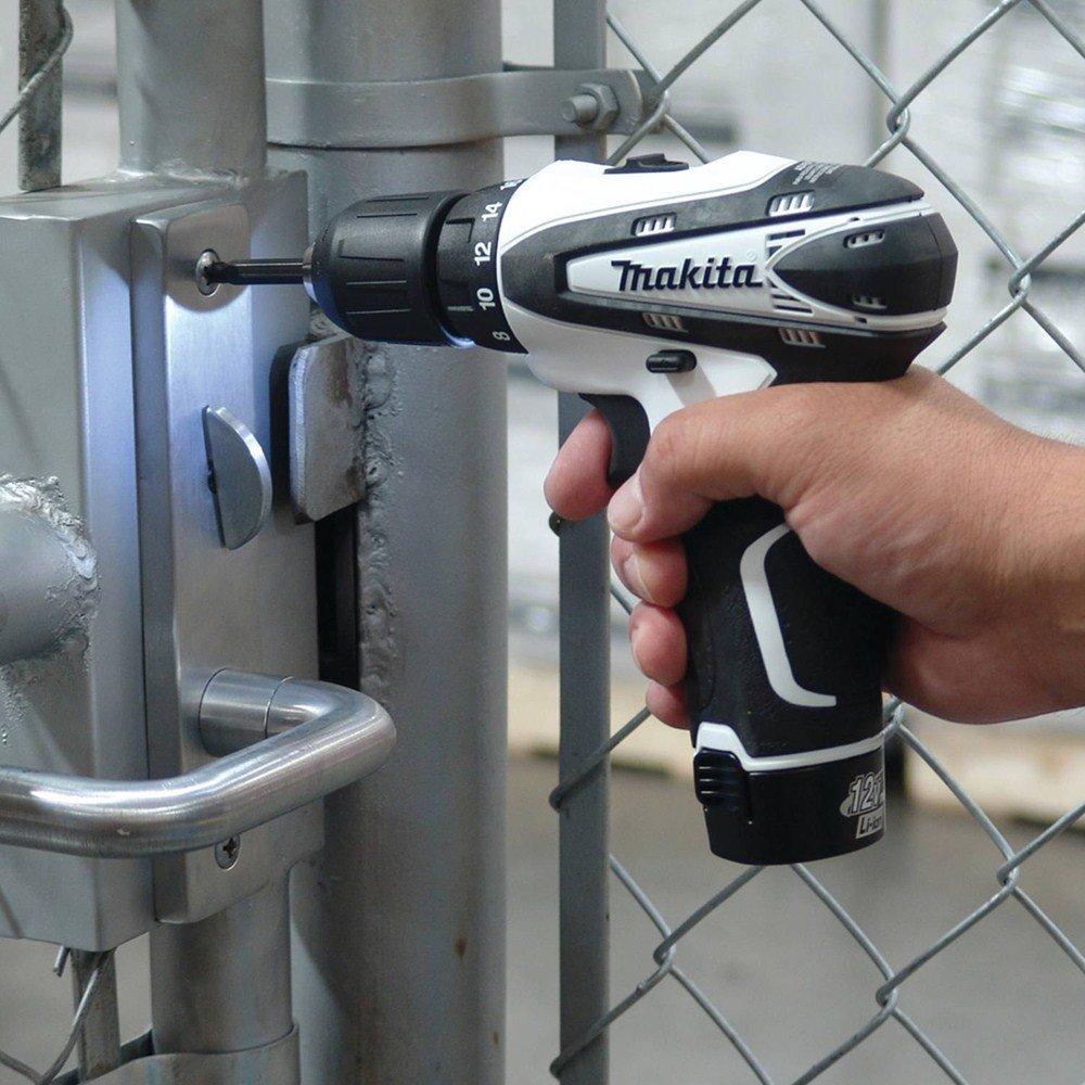 Makita FD02W 12V max Lithium-Ion Cordless 3/8'' Driver-Drill Kit