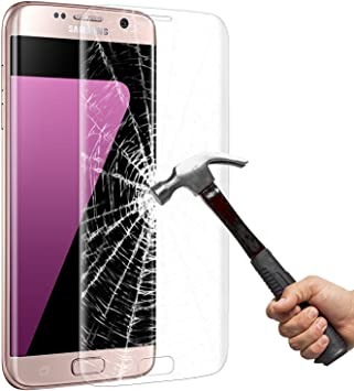 Galaxy S7 Protector de Pantalla, Vitutech HD Vidrio Templado Protector de Galaxy S7 [Libre de Burbujas] [Anti-Huellas Dactilares] Protector de Pantalla para Samsung Galaxy S7: Amazon.es: Coche y moto