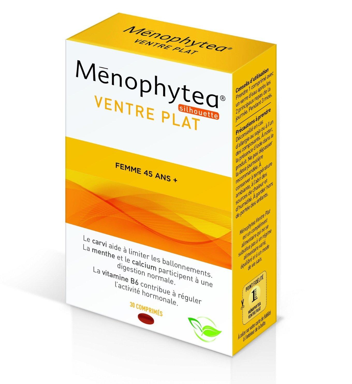 Menophytea Silhouette Flat Stomach Women 45+ 30 Tablets  Amazon.co.uk   Beauty 5fa0407fdfa