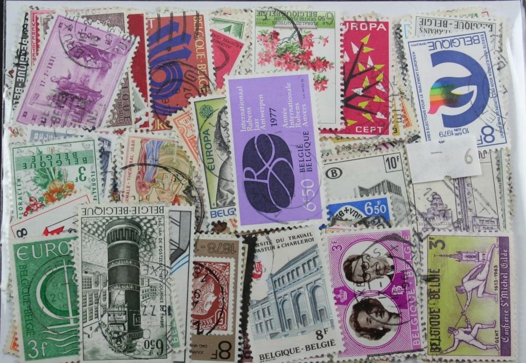 300Belgique timbres en sachet (L) (6) Dauwalders
