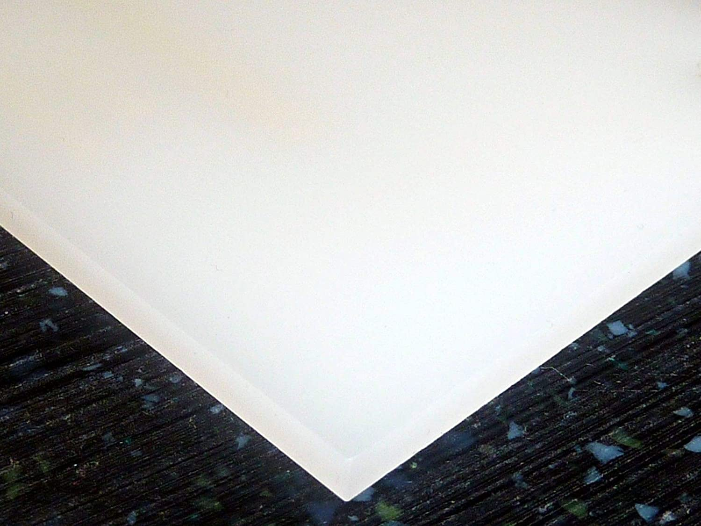 2447 White Translucent 55/% Falken Design Acrylic Plexiglass Sheet 20 x 30 x 1//8