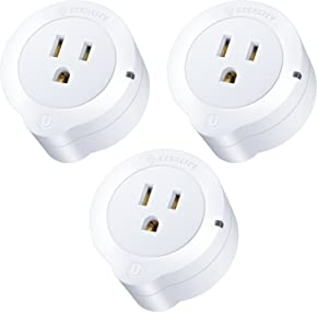 Etekcity WiFi Smart Plug, Energy Monitoring Wireless Mini Outlet with Timer, No Hub Required