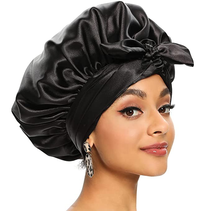 Satin Scarf for Hair Wrapping At Night