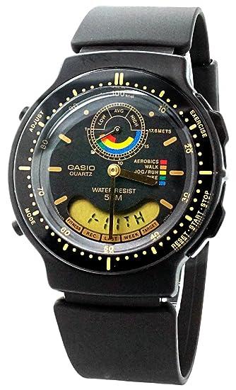 Casio AW-60-1EV - Reloj de pulsera hombre, caucho, color negro