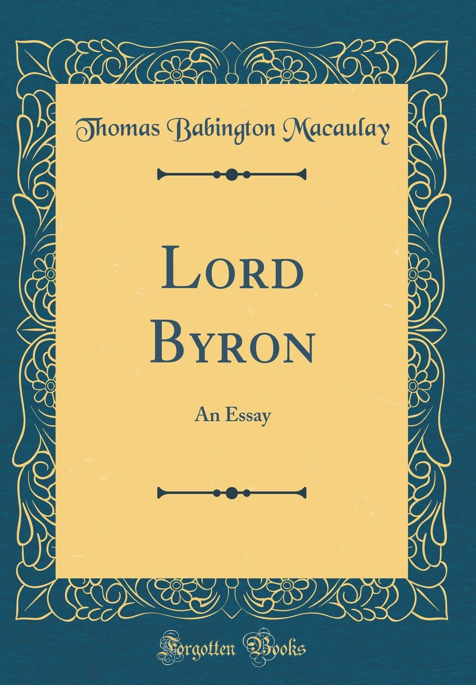lord byron facts