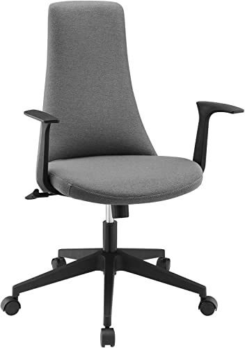Modway Fount Mid Back Office Chair in Gray