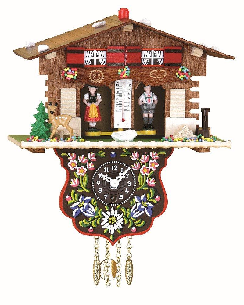 Trenkle Orologio dalla Foresta Nera in miniatura casa svizzera casetta stazione meteo