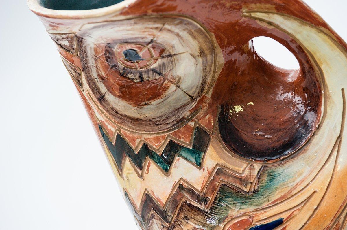 Trittico di piatti ceramica antica albisola in venaria reale