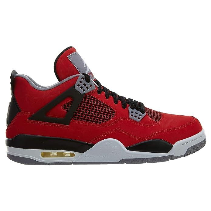 5c84bf3ba0c Air Jordan 4 Retro 'Toro Bravo' - 308497-603 - Size 7.5 -: Amazon.es:  Zapatos y complementos