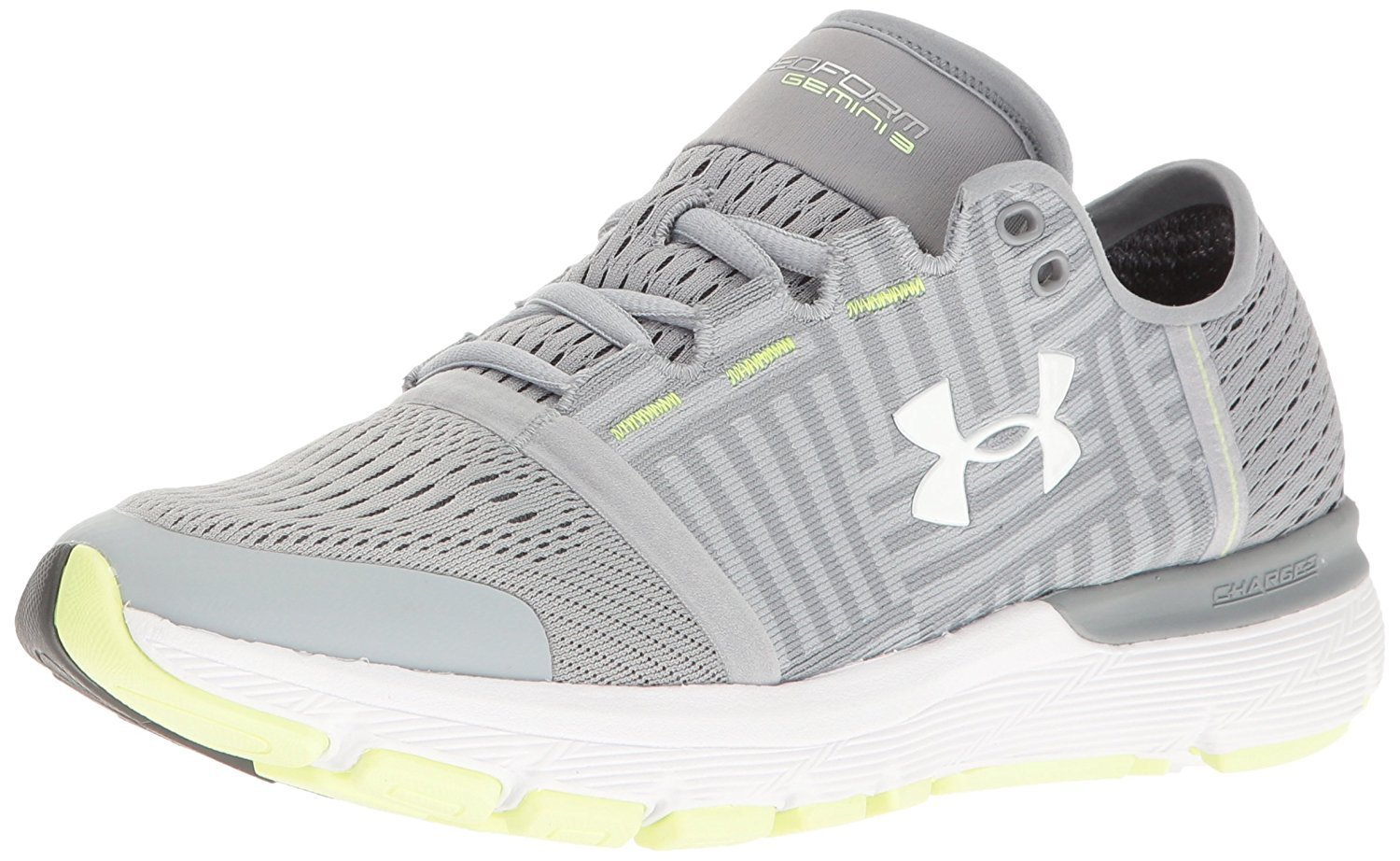 Under Armour Women's Speedform Gemini 3 Running Shoe B01GP2ZXGW 5 B(M) US|Overcast Gray/Steel/White