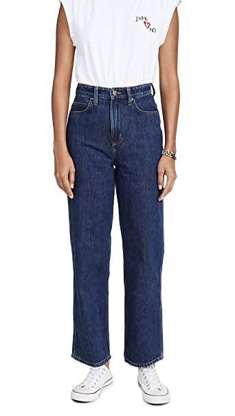 Lee Vintage Modern Womens High Rise Relaxed Stovepipe Jeans ...