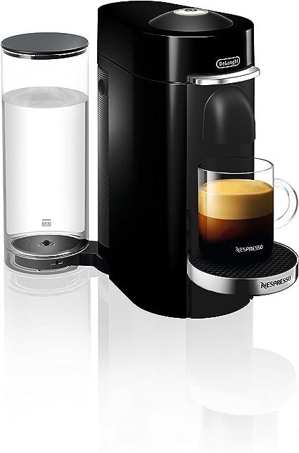 Nespresso by DeLonghi ENV155B VertuoPlus Deluxe Coffee and Espresso Machine by DeLonghi, Black