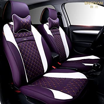 ANKIV Full Set Universal Fit 5 Seats Car 3D Surrounded Contrast ...