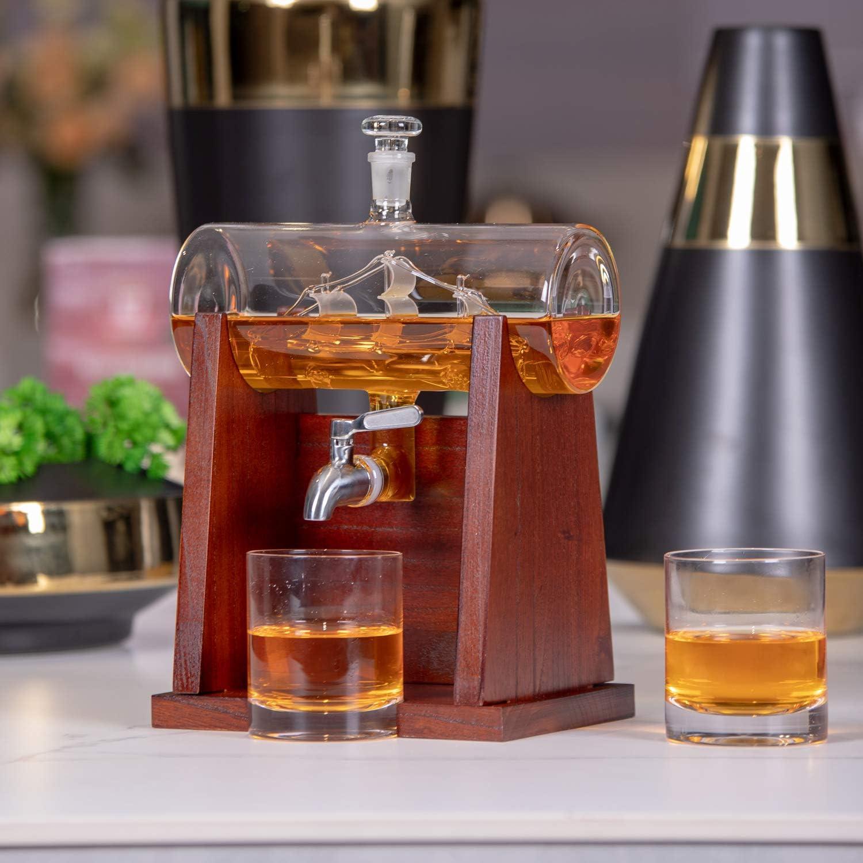base de madera ver imagen Vaso de whisky Haushaltsberg dise/ño japon/és Size 1