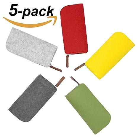 vorpalblade Pure Color Funda de fieltro para gran capacidad ...