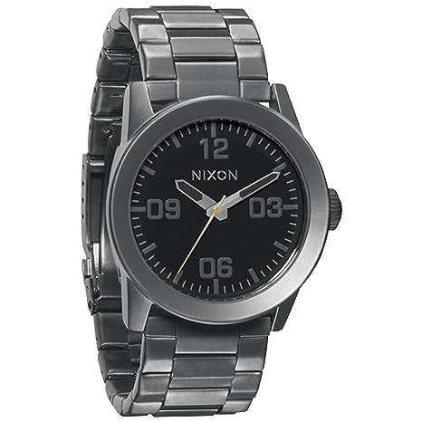 Nixon A276680-00 - Reloj analógico de cuarzo para hombre con correa de acero inoxidable