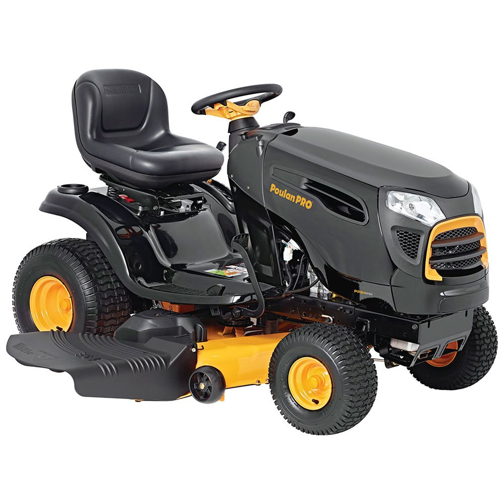 "Poulan Pro 960420186 Briggs 24 hp Automatic Hydrostatic Transmission Drive Riding Mower, 54"" 46000 Outdoor Power Issue"