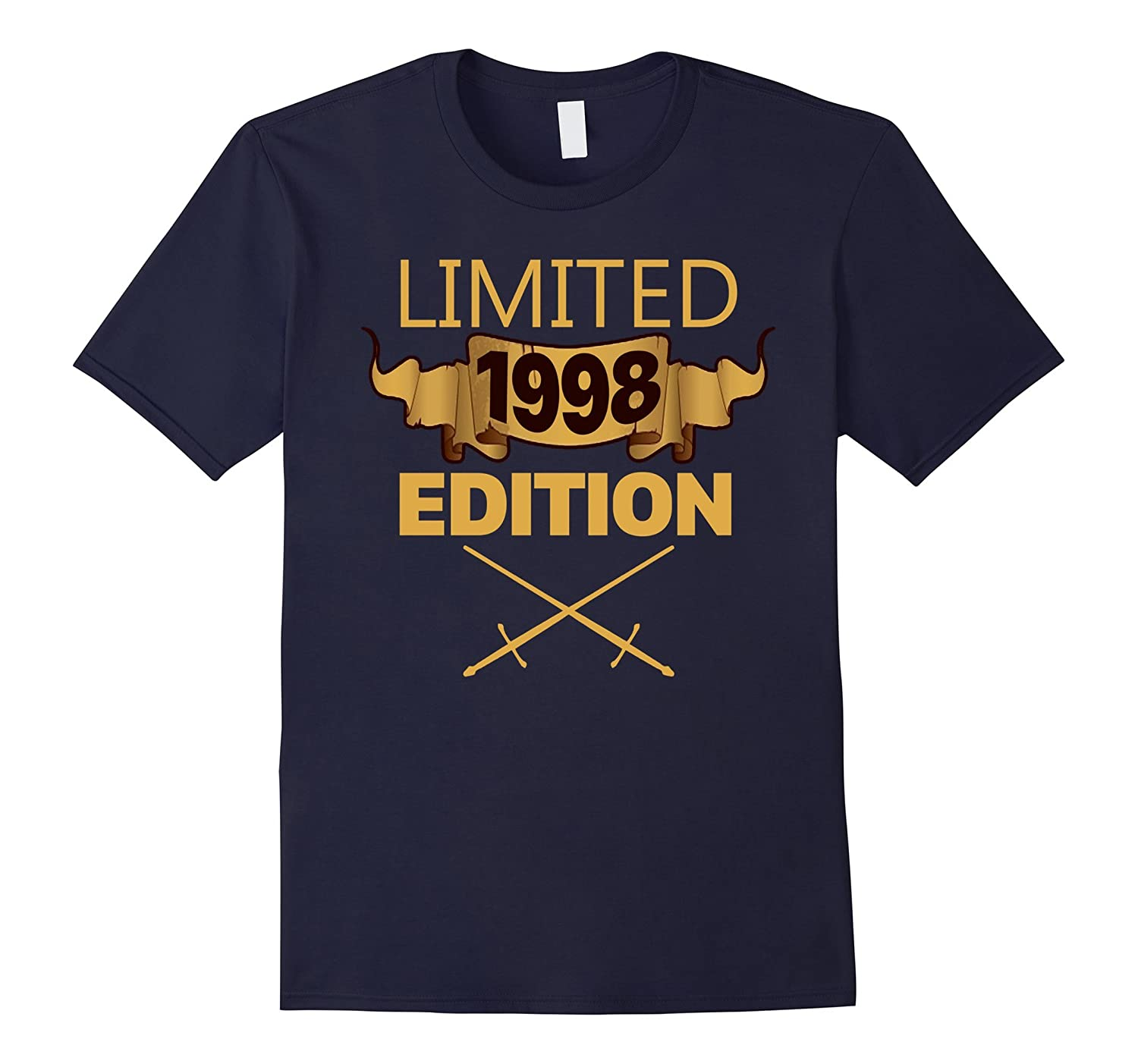 Limited 1998 Edition Shirt Funny Birthday Gifts 19 Years Old-Art