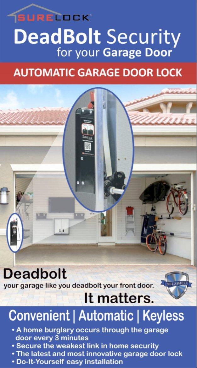Amazon Surelock Garage Door Deadbolt Home Improvement