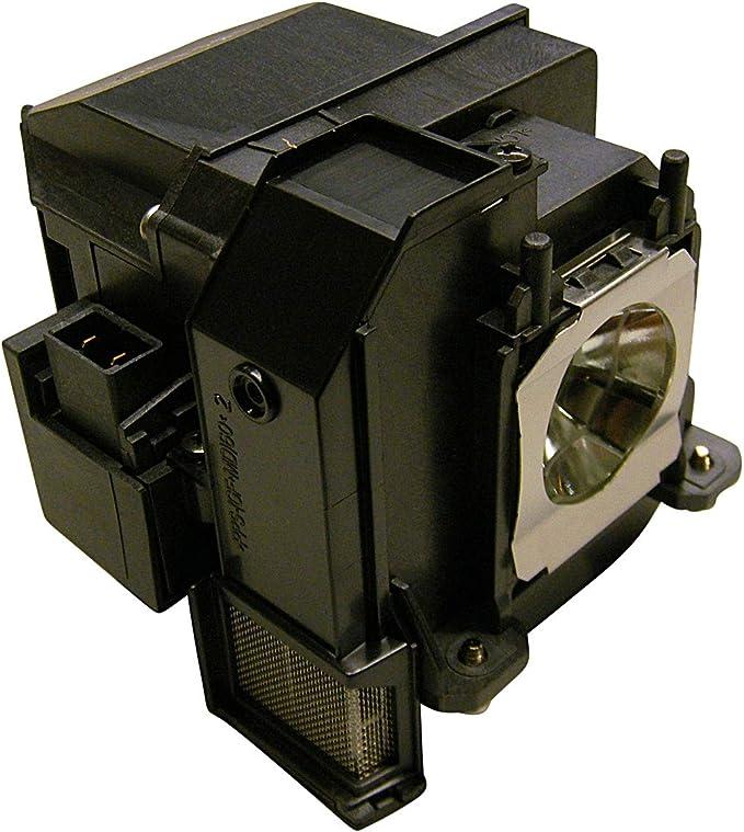 azurano Beamerlampe Ersatzlampe f/ür EPSON ELPLP91 mit Geh/äuse