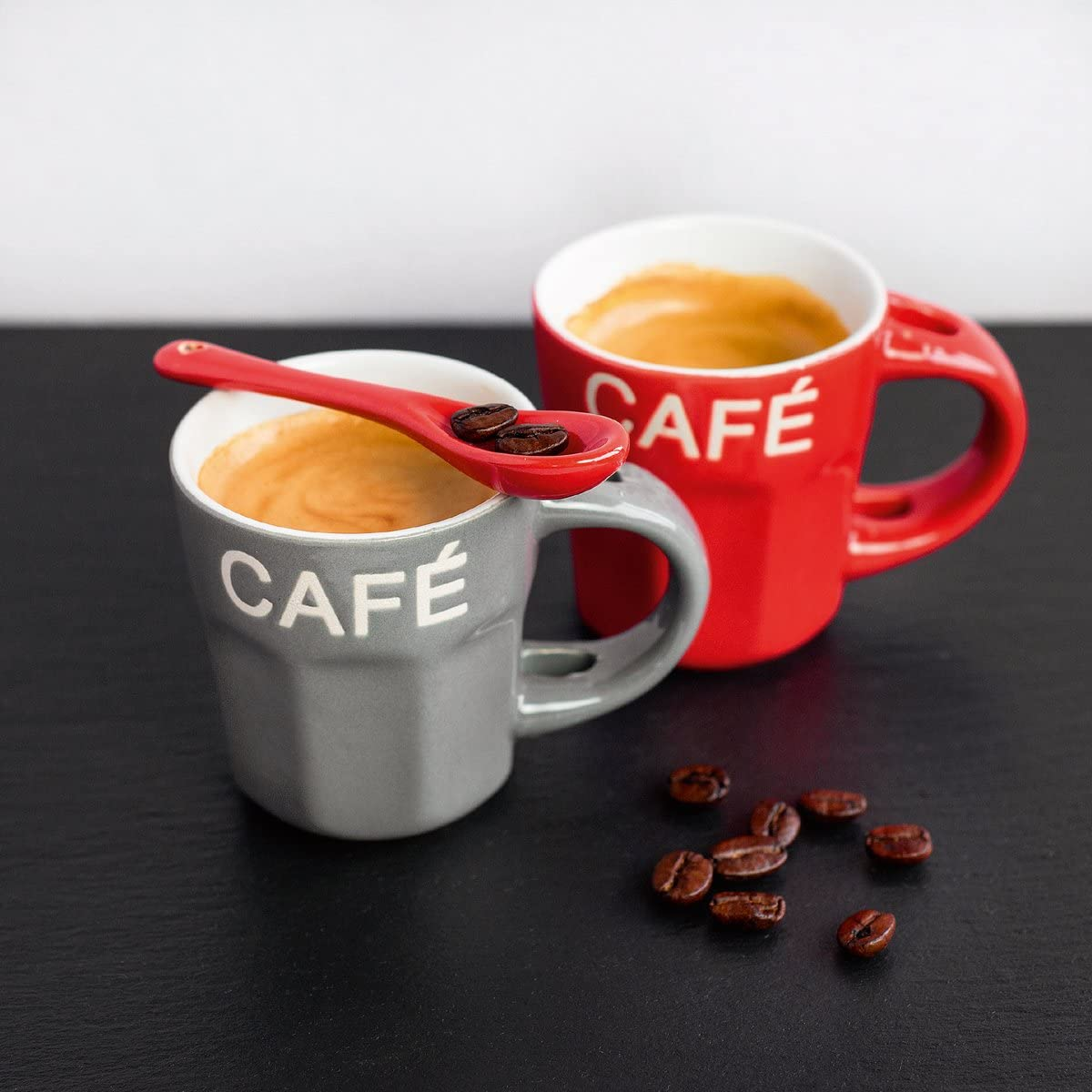 Eurographics Deco Glass BA20 Espresso Cups, 20 x 20 cm: Amazon