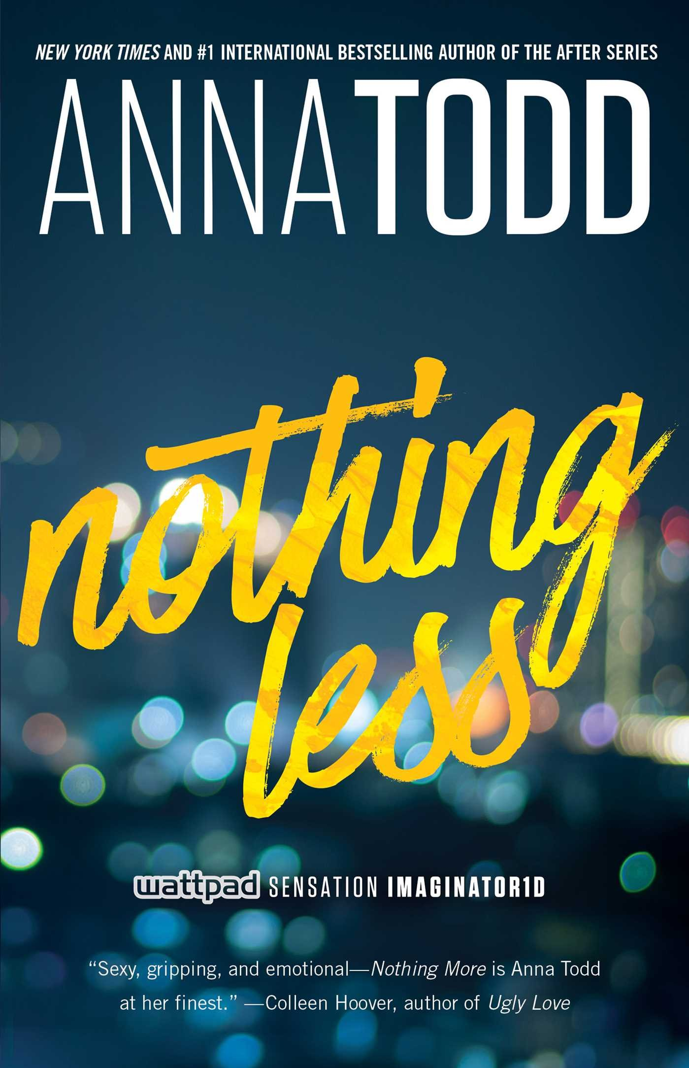 Nothing Less 2 The Landon Series Todd Anna 9781501130847 Books