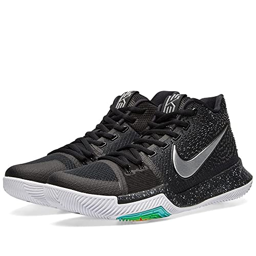 super popular a6393 49dd7 Amazon.com: Nike Kyrie 3 Black Ice Silver 852395 018: Shoes