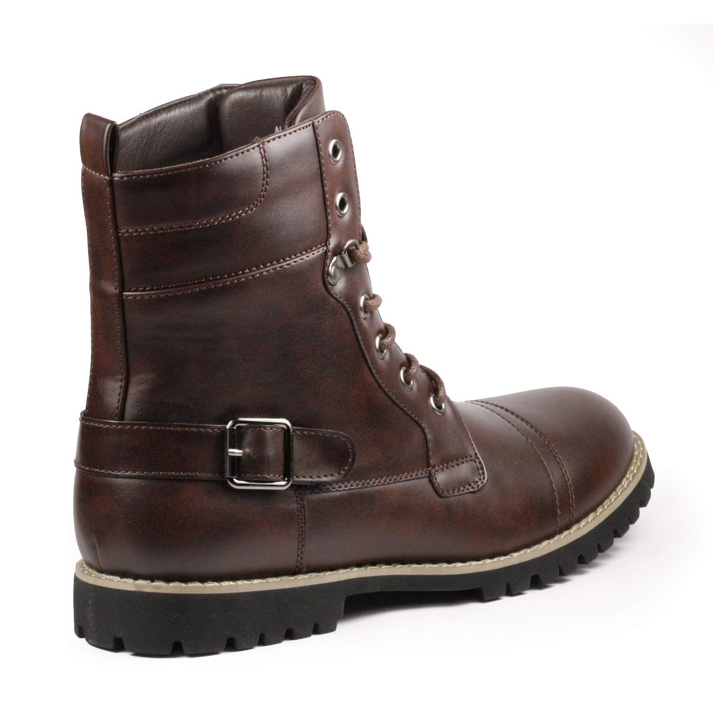 Metrocharm MC314 Mens Lace Up Cap Toe Fashion Oxford Boot