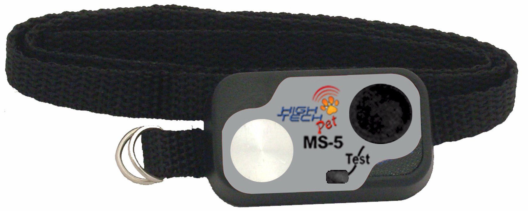 High Tech Pet Micro Sonic 5 Water-Resistant Collar with Digital Transmitter MS-5 by High Tech Pet