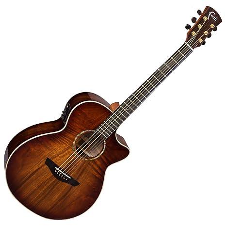 Fe guitarras fvbmb Venus sangre luna serie Trembesi acústica guitarra eléctrica w/carcasa rígida