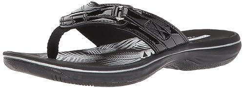 dd431c00e6684 Clarks Women s Breeze Sea Flip Flop  Amazon.com.au  Fashion