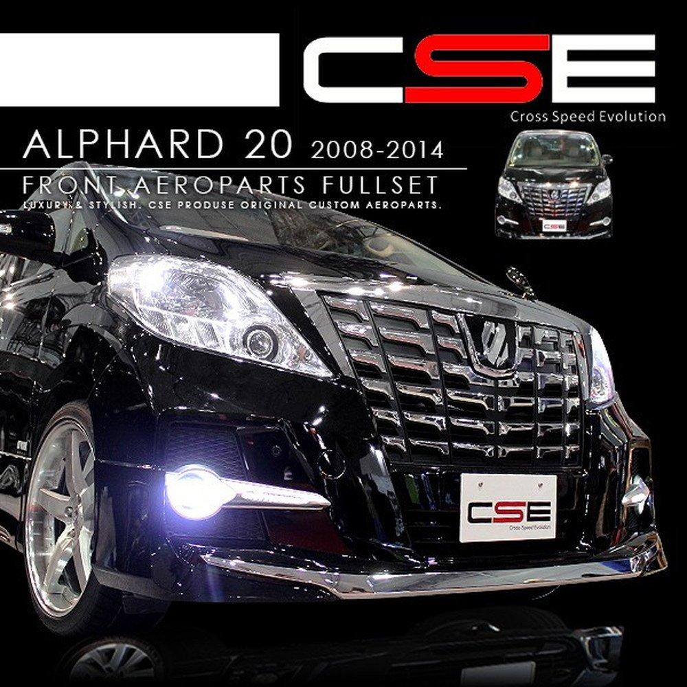 アルファード 20系 30ルック フェイスチェンジキット 顔面移植 CSE エアロセット B01KQDQ1D0