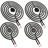 MP22YA Electric Range Burner Element Unit Set by Beaquicy - Replacement for Ken-more Whirlpool May-tag Hardwick Norge Ranges/