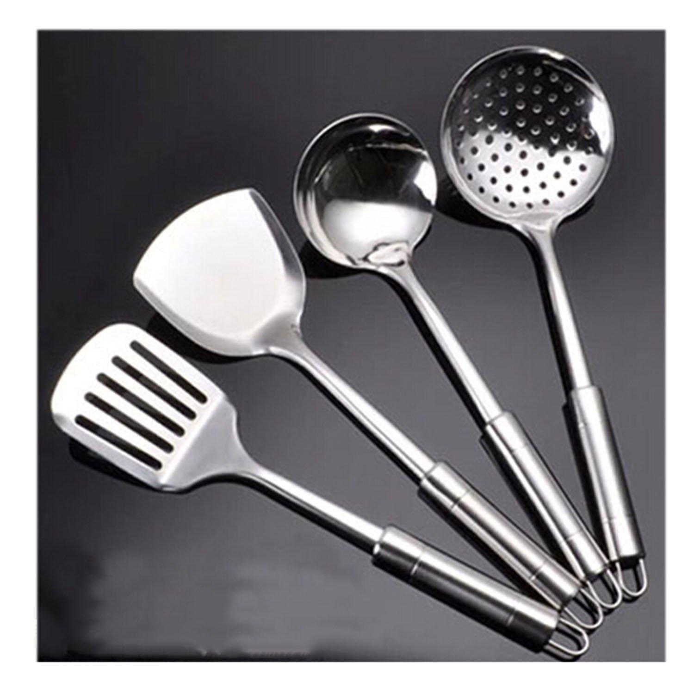 4pcs utensilios de cocina de acero inoxidable conjunto de ...