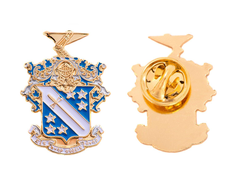Desert Cactus Phi Delta Theta Fraternity Crest Lapel Pin Enamel Greek Formal Wear Blazer Jacket Phi Delt