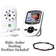 2018 Model Total Connection Company Video Baby Monitor, Wireless, Digital Camera, 2.4  LCD Display, Clear Infrared Night Vision, Temperature Monitoring, 2-Way Talk, Newborn Lullaby (Camera+Monitor)